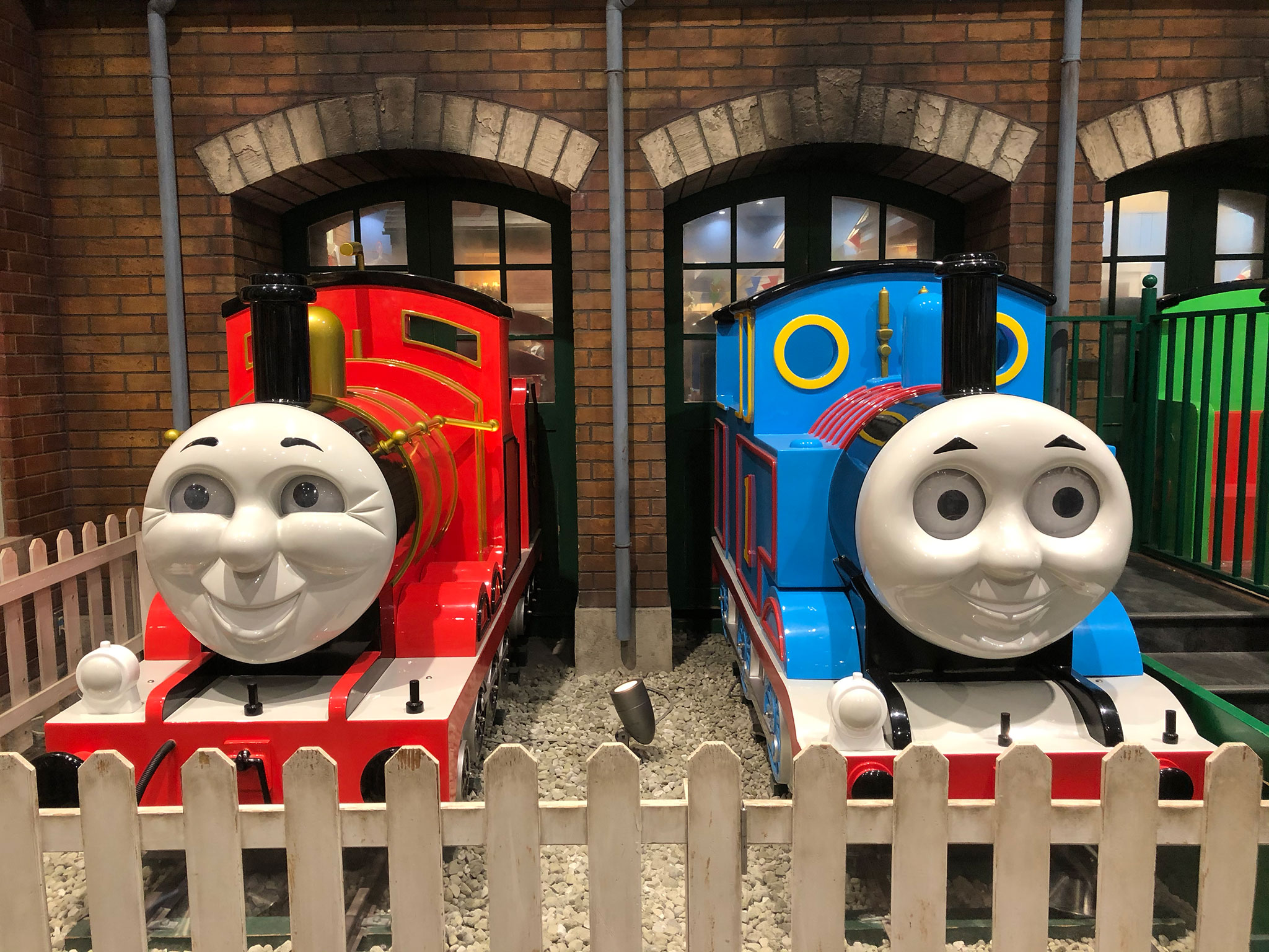 トーマスタウンのトーマスとジェームス