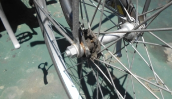 自転車のスポーク