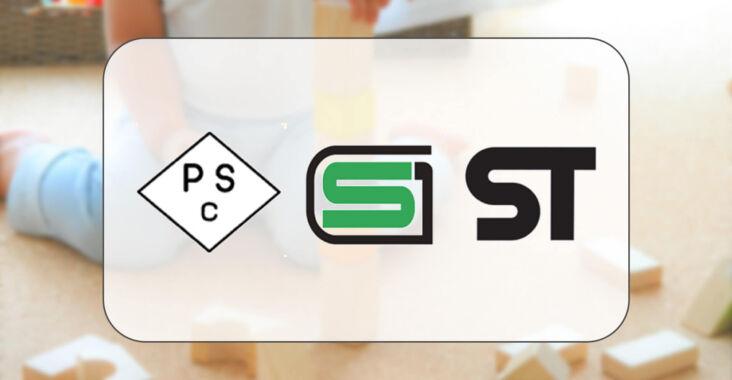 PSCマーク、SGマーク、STマーク